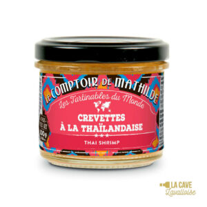 Crevettes à la Thaïlandaise - Tartinable 100gr Produits Salés, Comptoir de Mathilde