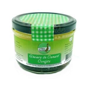 Gésiers de Canard confits - Les Becs Fermiers - 180gr Les Becs Fermiers, Produits Salés