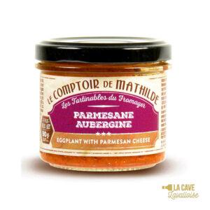 Parmesane d'Aubergine - Tartinable 90gr Produits Salés, Comptoir de Mathilde