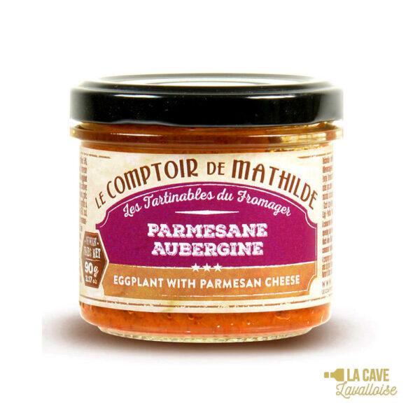 Parmesane d'Aubergine - Tartinable 90gr Produits Salés, Comptoir de Mathilde, aperitif, apéro, comptoir de mathilde, épices, exotisme, légumes, mer, oriental, provence, réception, tapas, tartinables, toasts, verrines