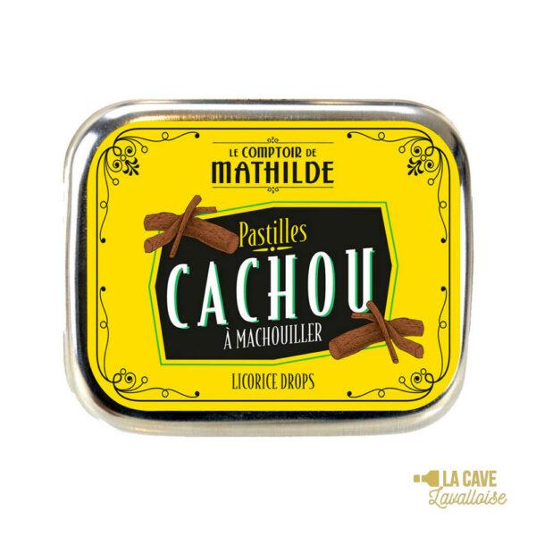 Pastilles Cachou - Boîte Métal 8gr Produits Sucrés, Comptoir de Mathilde