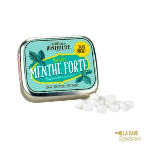 Pastilles Menthe Forte - Boîte Métal 10gr Produits Sucrés, Comptoir de Mathilde