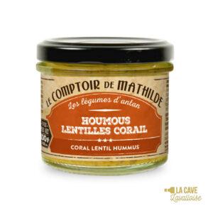 Houmous Pois chiches & Lentilles corail - Tartinable 100gr Produits Salés, Comptoir de Mathilde