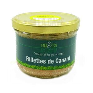 Rillettes de Canard - Maison Royer - 190gr Produits Salés, Maison Royer