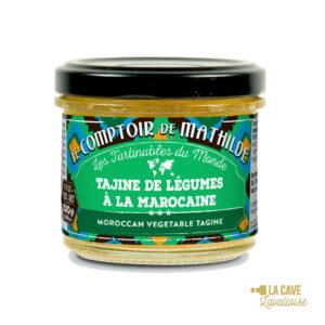 Tajine de Légumes à la Marocaine - Tartinable 100gr Produits Salés, Comptoir de Mathilde
