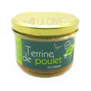 Terrine de Poulet à la Catalane - L'Angellerie - 180gr Les Volailles de l'Angellerie, Produits Salés