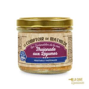 Thoïonade aux Légumes - Tartinable 100gr Produits Salés, Comptoir de Mathilde