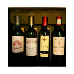 Coffret Vins Prestige - 4 Bouteilles - 4x75cl Idées Cadeaux Noël 2021, Coffrets Vins, coffret vin, coffret vin abonnement, coffret vin blanc, coffret vin bordeaux, coffret vin découverte, coffret vin grand cru, coffret vin personnalisé, coffret vin rosé, coffret vin rouge, coffret vins récoltants, idée cadeau