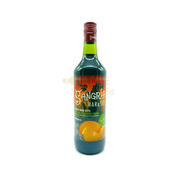 Sangria 1 Litre Apéritifs, aperitif, cocktail, vin d'honneur, vin rouge