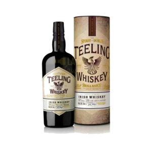 Teeling Small Batch 46° - 70cl Idées Cadeaux Fête des Pères, Idées Cadeaux Noël 2021, Irlande, bourbon, finition futs de sherry, tiling, whiskey, whiskies à laval, whisky, whisky à laval, whisky en mayenne, whiskys