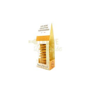 Mini-Galettes de Vendée - 70gr Maison Planchot, Produits Sucrés, biscuits, croquants, épicerie, fabrication artisanale, galettes au beurre, maison planchot, mendiants, meringues, noisettes, Pays de Loire, prefou, produits, produits locaux, vendée